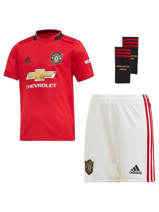 best service c76fc fdd4b Manchester United Infant 2019/20 Home Mini Kit - Red