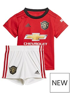 360e93b298b adidas Manchester United 2019 20 Home Baby Kit - Red