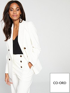 karen-millen-sleek-and-sharp-summer-blazer-ivory