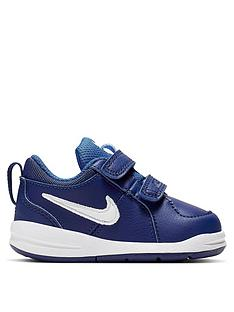 9f01c7807cb66 Nike Pico 4 Infant Trainers - Blue White