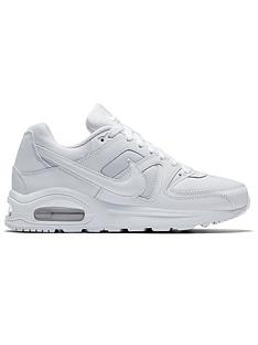 newest d95b5 c8fbc Nike Air Max Command Flex Junior Trainers - White