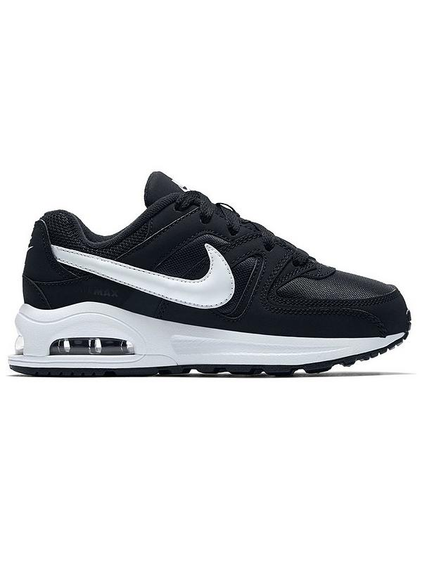 Air Max Command Flex Childrens Trainers BlackWhite