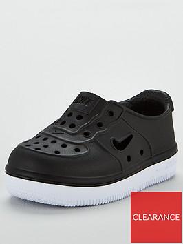 nike-foam-force-1-infant-trainers-blackwhite