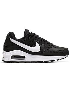 wholesale dealer 35d28 b868b Nike Air Max Command Flex Junior Trainers - Black White