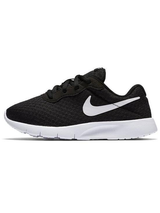 efea3549ee Nike Tanjun Childrens Trainers - Black/White | very.co.uk