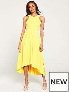 c4c7129901f KAREN MILLEN Colourful Midi Day Dress - Yellow