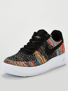 cheap for discount 3487d b4ddf Nike Nike Air Force 1 Flyknit 2.0 Junior Trainer