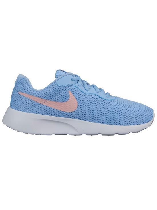 info for 082b0 09046 Nike Tanjun Junior Trainers - Blue Pink