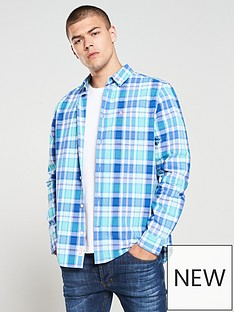 jack-wills-earlston-checked-long-sleeve-shirt-teal-check