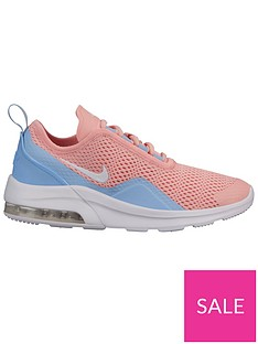 check out 68cc1 2e562 Nike Air Max Motion 2 Junior Trainers - Coral White