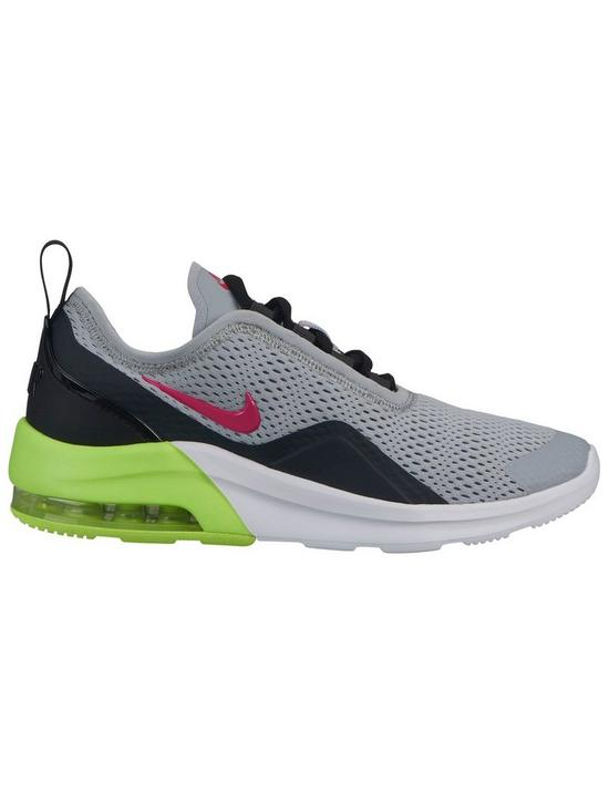 new arrival 57128 f6e1a Nike Air Max Motion 2 Junior Trainers - Grey Pink