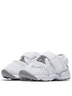 a02c7ebfe Nike Rift Junior Sandals - White