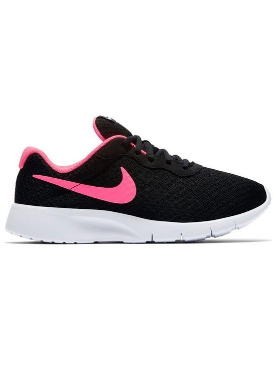 c34dc681a0 Nike Tanjun Junior Trainers - Black/Pink | very.co.uk