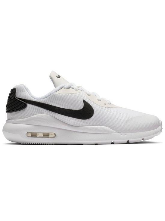 info for 5a837 e8ef3 Nike Air Max Oketo Junior Trainers - White Black