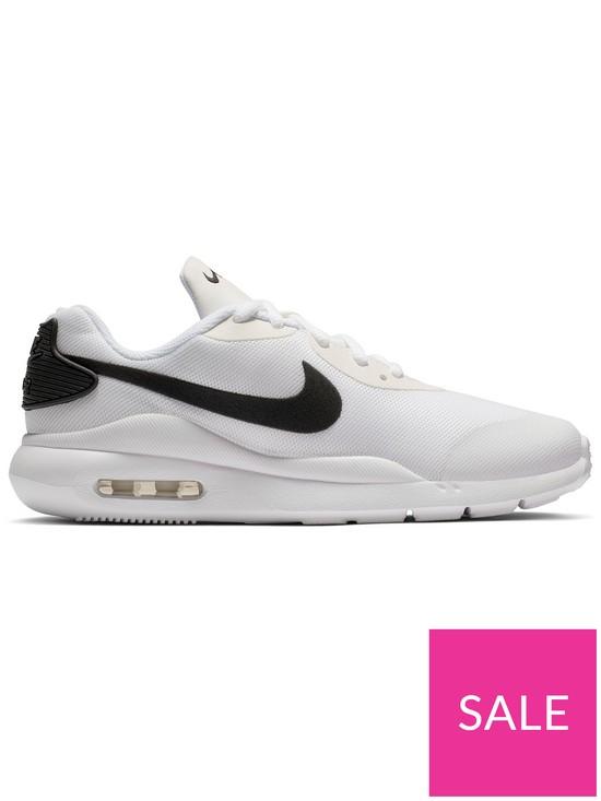 info for 7886f 5ad1c Nike Air Max Oketo Junior Trainers - White Black