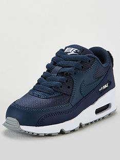 pretty nice efaad 55912 Nike Air Max 90 Mesh Childrens Trainer