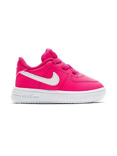 pretty nice 10b5f a1155 Nike Air Force 1 Infant Trainers - Pink White