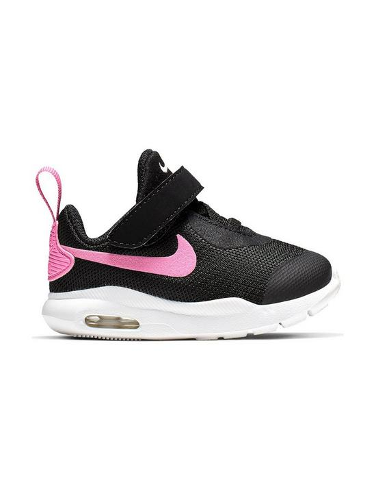 wholesale dealer 2b999 6b67c Nike Air Max Oketo Infant Trainers - Black Pink