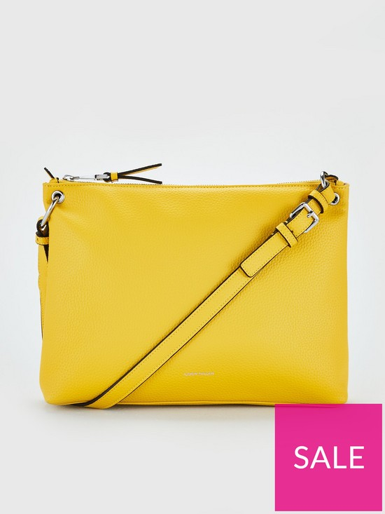 00388d7c1a KAREN MILLEN Mini Shoulder Bag - Yellow | very.co.uk