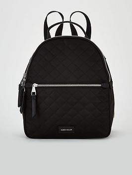 karen-millen-backpack-black
