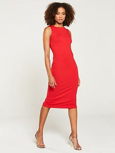 v-by-very-sleeveless-bodycon-jersey-midi-dress-red