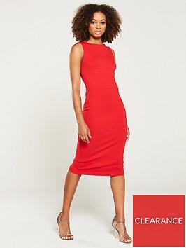 v-by-very-sleeveless-bodycon-jersey-midi-dress-red