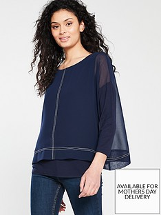 wallis-contrasting-stitch-overlayer-top