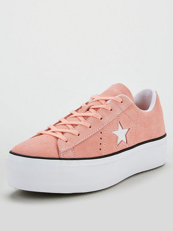 60% clearance provide plenty of special discount of One Star Platform Ox - Pink/White