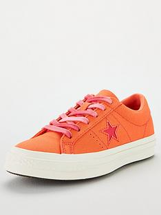 b662e95bfd Converse One Star | Trainers | Women | www.very.co.uk