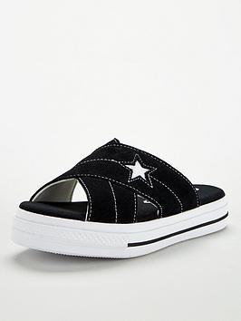converse-one-star-sandal-slip-blackwhite