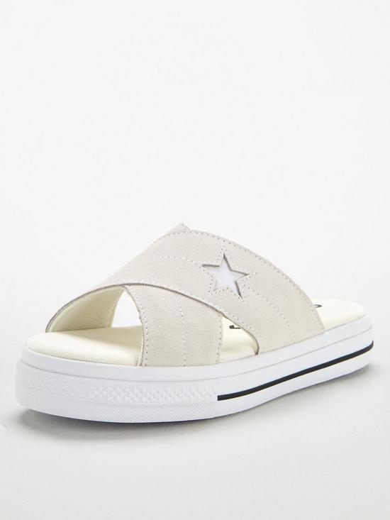 4b72f71f221ac One Star Sandal Slip - Cream/White