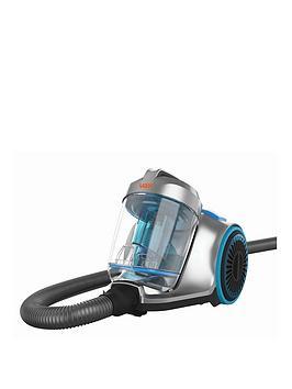 Vax Cvrav013 Pick Up Pet Cylinder Vacuum Cleaner- Blue And Grey