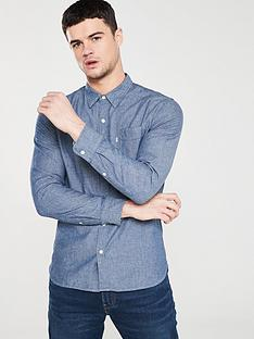 ee36720b6839 Levi s Classic One Pocket Long Sleeved Shirt - Indigo Chambray