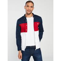 Levi s Colour Block Pacific Shirt - Lychee Red  e27c94178aac9