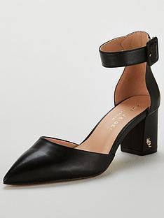 7e1a251ddeae KURT GEIGER LONDON Burlington Heeled Shoe - Black