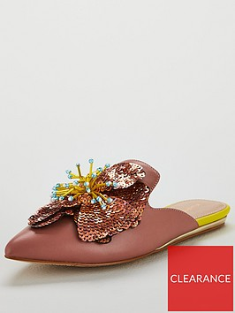 kurt-geiger-london-oaklee-mule-pink