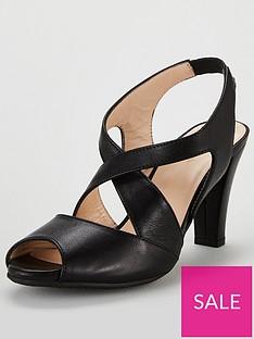 f886071c57 Carvela Comfort Annabel Heeled Strappy Sandal Shoes - Black