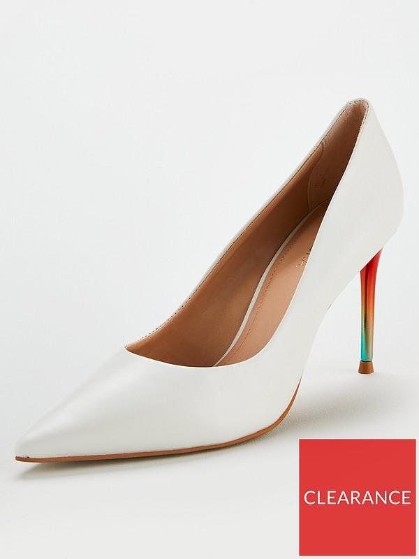 c648c818292 Alison Rainbow Court Stiletto Heeled Shoes - Multi