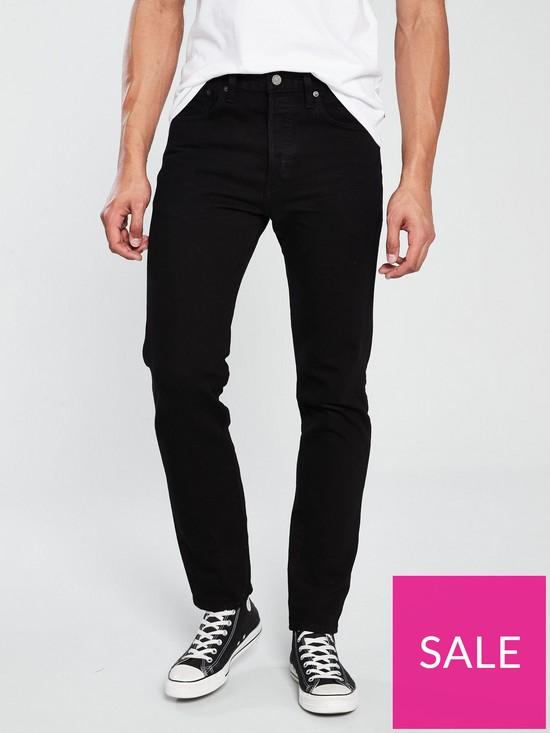 c32d448fe81 Levi's 501 Slim Taper Jean - Black | very.co.uk