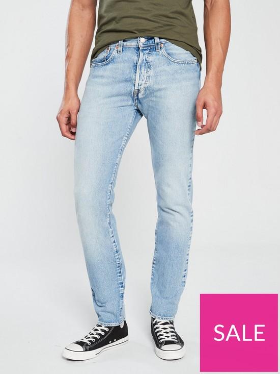 b0939a6f198 Levi's 501 Slim Tapered Jean - Revolution Mid | very.co.uk
