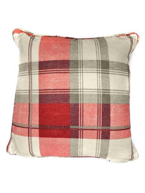 fusion-balmoral-check-filled-cushion