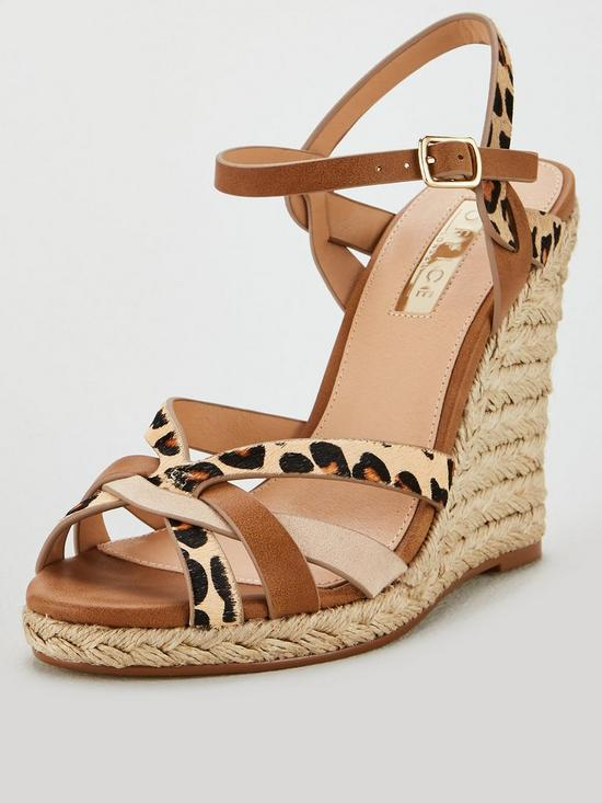 9e0efe4998 OFFICE Half Moon Wedge Sandals - Tan | very.co.uk