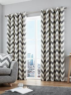 fusion-chevron-100-cotton-lined-eyelet-curtains