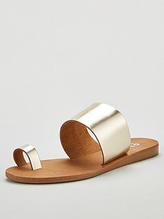 office-scuba-toe-loop-flat-sandal