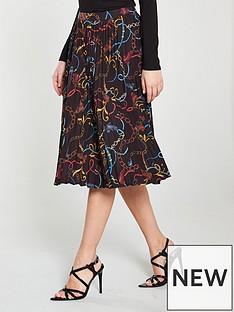 v-by-very-pleated-midi-skirt-chain-print
