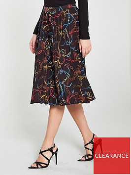 v-by-very-pleated-midi-skirt-chain-print