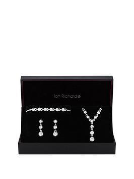 jon-richard-jon-richard-silver-crystal-bracelet-earrings-and-pendant-set