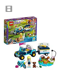 LEGO 41364 Friends Stephanie's Toy Buggy & Trailer, Stephanie mini-doll and Action Figures, Fun Playset for Kids Best Price and Cheapest