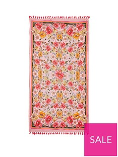 river-island-floral-terry-back-towel