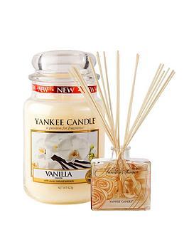 yankee-candle-large-classic-jar-candle-and-reed-diffuser-set-ndash-vanilla